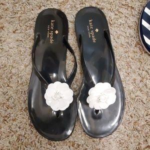 Kate Spade Jelly Flip Flops